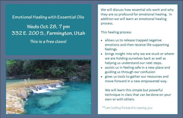 Emotional Healing Weds Oct 28th